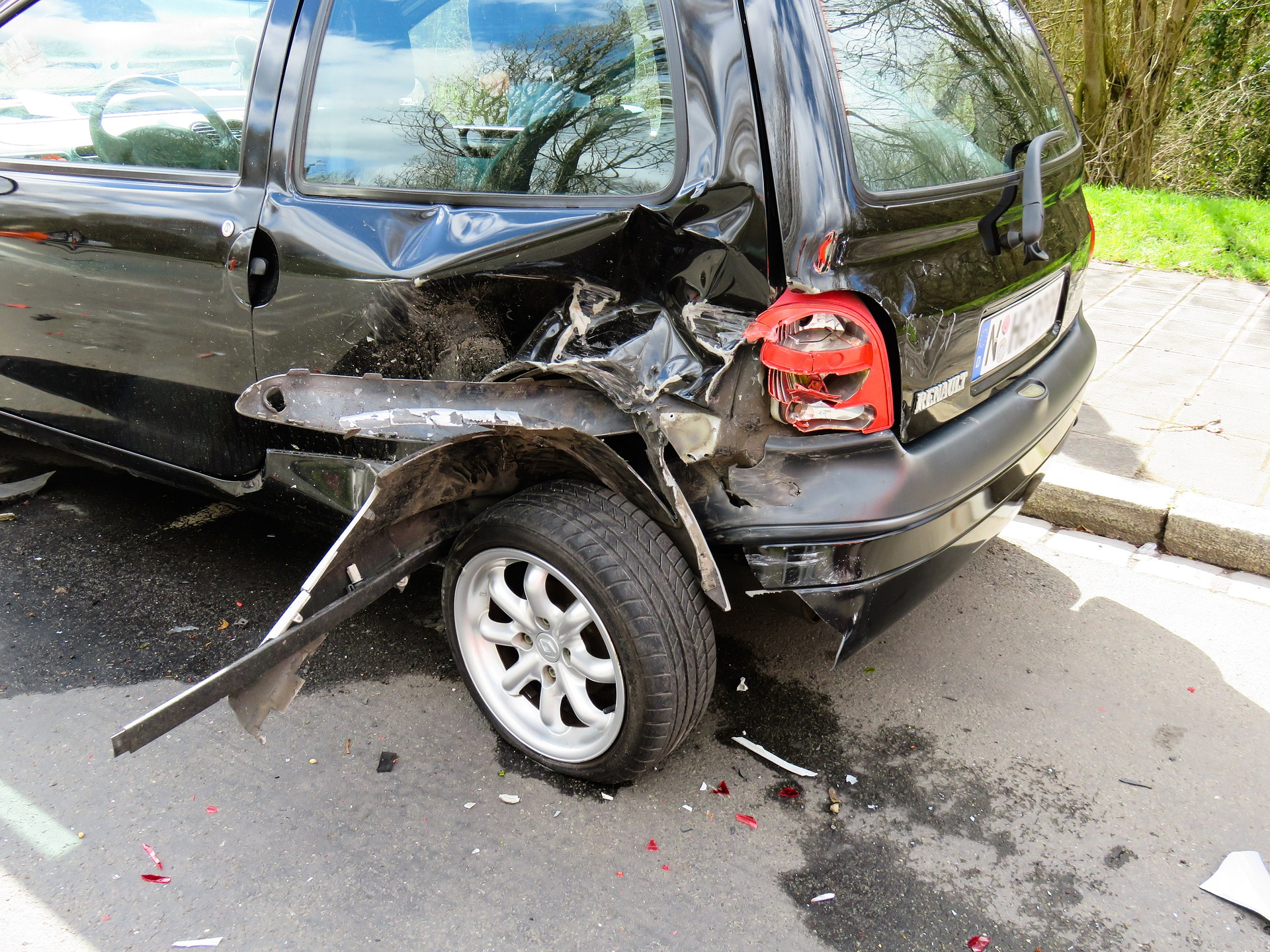 Rachat de voiture accidente