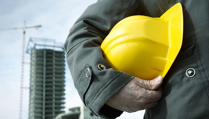 casques de chantier